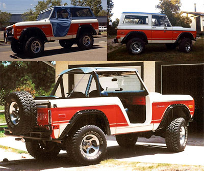 Denver Broncos on The Denver Broncos Special Edition Ford Bronco Page